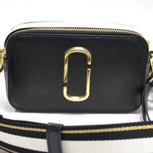Marc Jacobs Leather The Snapshot Leather Belt Bag